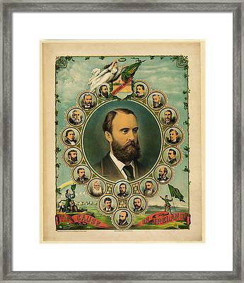 The Cause Of Ireland 1881 Framed Print