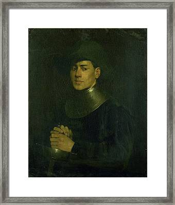 The Cavalier, Louis Mettling Framed Print