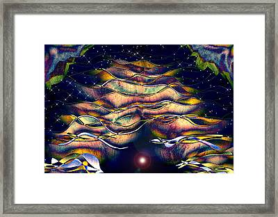 The Cave Dweller Framed Print by Wendy J St Christopher