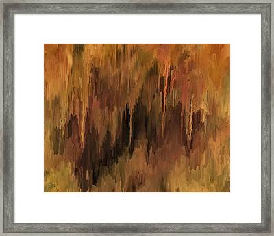 The Cave Framed Print by Michael Pickett