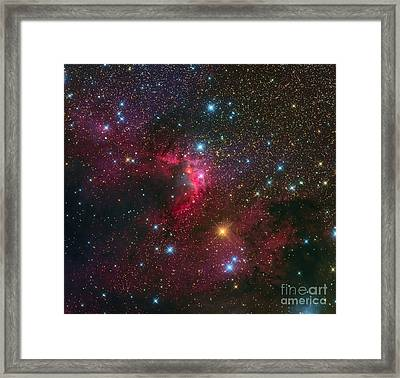 The Cave Nebula Framed Print by Michael Miller