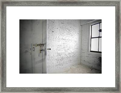 The Cell Framed Print by Jessica Berlin