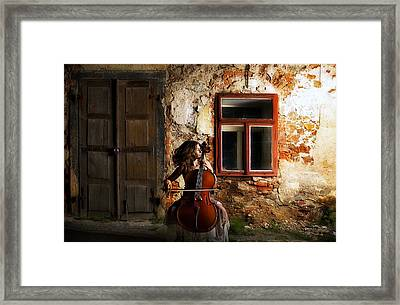 The Cellist Framed Print by Movie Poster Prints