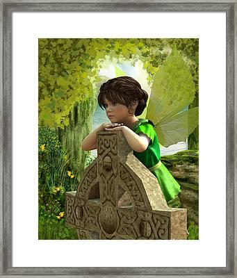 The Celtic Fairy Framed Print