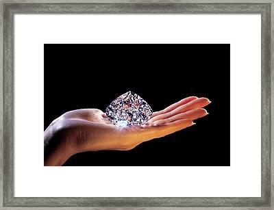 The Centenary Diamond Framed Print by Patrick Landmann