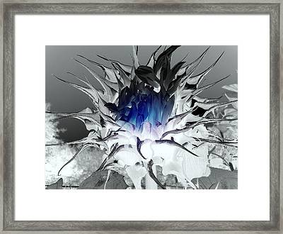 The Center Of The Universe Framed Print by Sian Lindemann