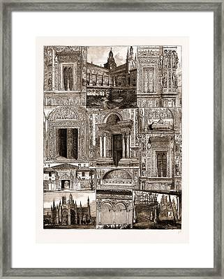 The Certosa Of Pavia, Italy Framed Print by Litz Collection