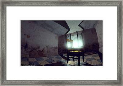 The Chair Framed Print by Anton Egorov