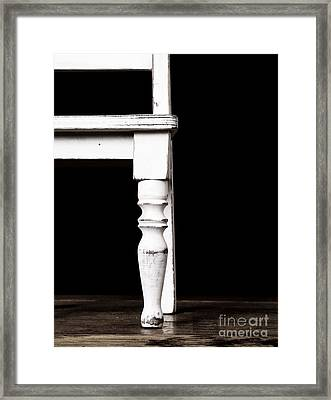 The Chair Framed Print by Edward Fielding