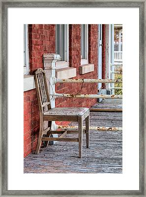The Chair  Framed Print by JC Findley