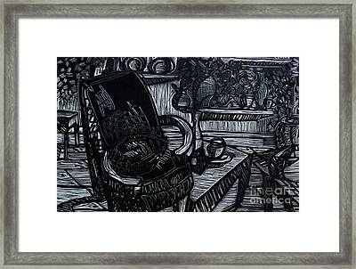 The Chair Of My Dreams Framed Print