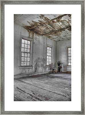 The Chair - Redux Framed Print by Mark Alder