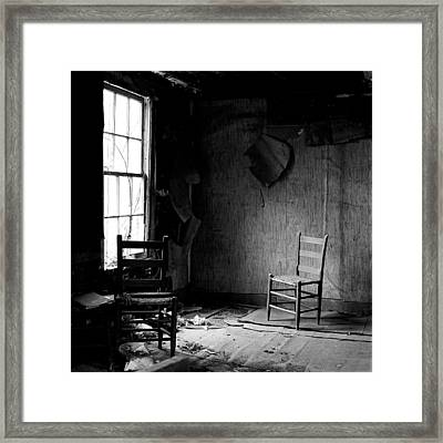 The Chair Framed Print by Wendell Thompson
