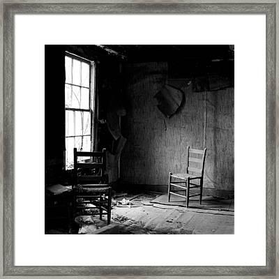 The Chair Framed Print