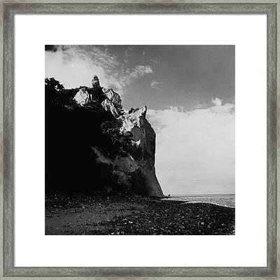 The Chalk Cliffs Framed Print by Horst P. Horst