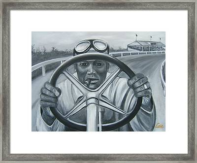 The Challenge Framed Print by Joseph Love