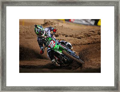 The Champ Framed Print by Gary Sprowls