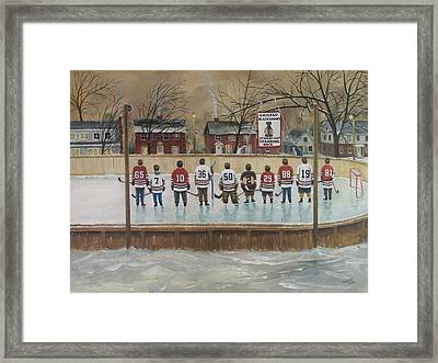 The Champs - 2013 Stanley Cup  Framed Print