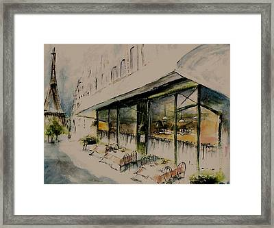 The Champs Elysees Framed Print by Diane Strain