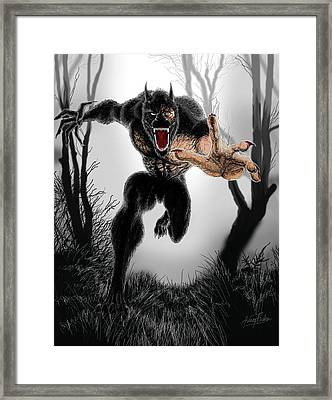 The Change Framed Print by Arianit Fazliu