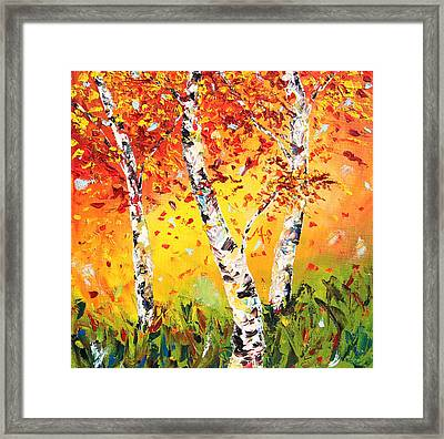 The Change Framed Print by Meaghan Troup
