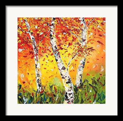 Seasonal Paintings Framed Prints