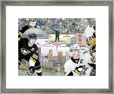 The Changing Of The Guard Framed Print by Albert Puskaric