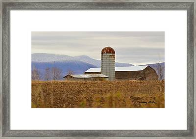 The Changing Seasons Framed Print
