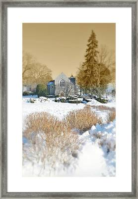 The Chapel Framed Print by Diana Angstadt