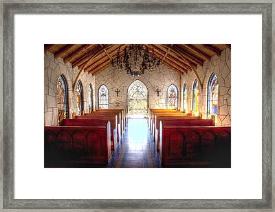 The Chapel Framed Print by Paul Huchton