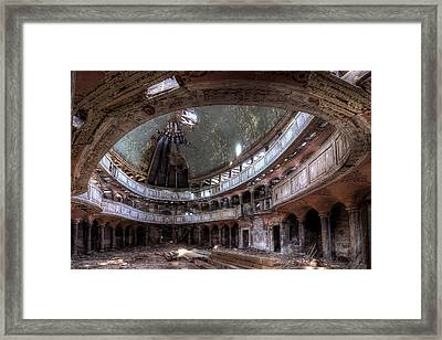 The Chapel Framed Print by Sven Gerard