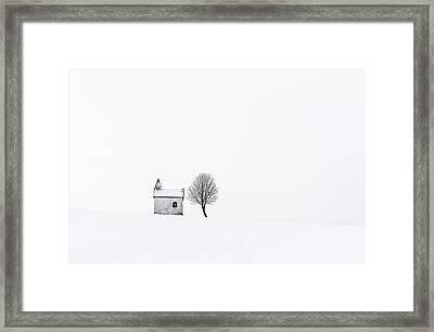The Chapel Framed Print by Tom Meier