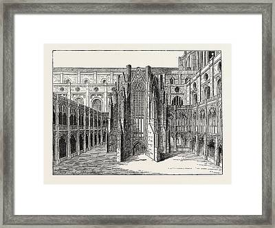 The Chapter House Of Old St Framed Print