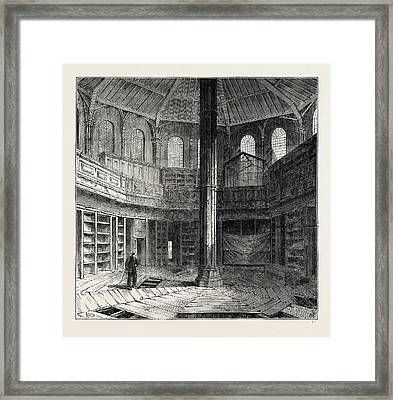 The Chapter House Previous To Its Restoration Framed Print