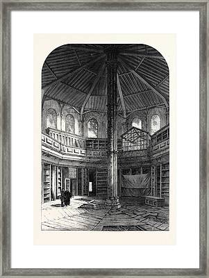 The Chapter House Westminster Abbey London Uk 1866 Framed Print