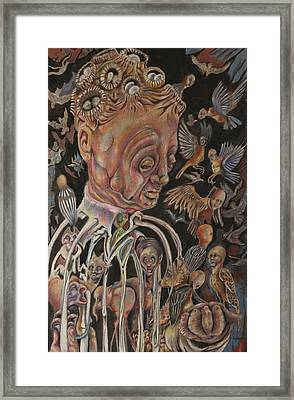 The Charismatic Qualities Of Mr. Jack Downsby Framed Print by Michael Sienerth