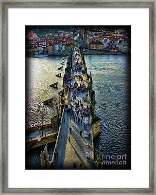 The Charles Bridge Framed Print by Lee Dos Santos