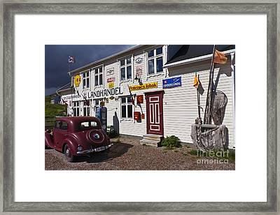 The Charm Of The Old Times Framed Print