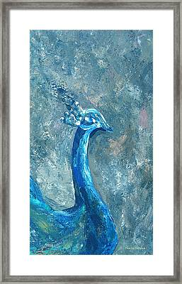 The Charming Prince 1 A Framed Print by Thecla Correya