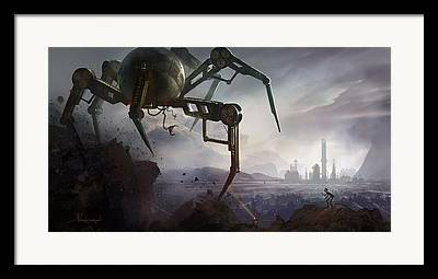 Steam Punk Framed Prints