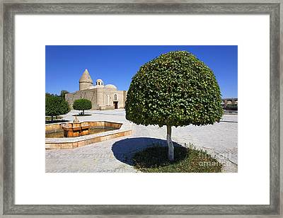 The Chashma Ayab Mausoleum At Bukhara In Uzbekistan Framed Print by Robert Preston