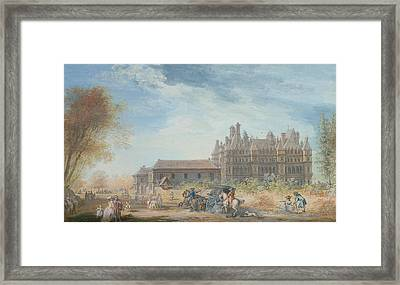 The Chateau De Madrid Framed Print