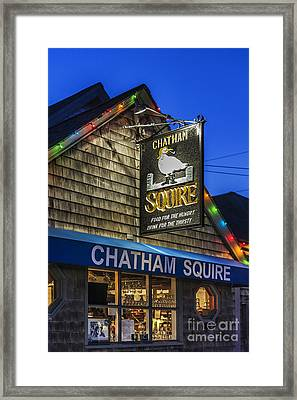 The Chatham Squire Framed Print