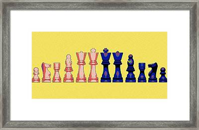 The Checkmate Diaries Framed Print by Florian Rodarte