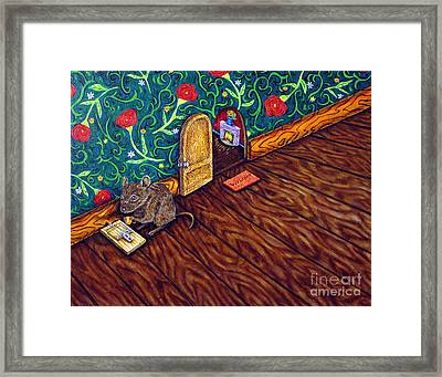 The Cheese Thief Framed Print by Jay  Schmetz