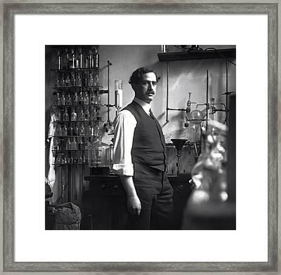 The Chemist - 1912 Framed Print by Daniel Hagerman