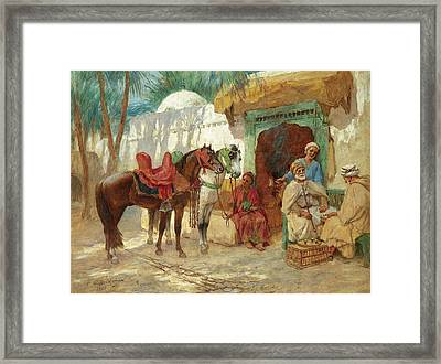 The Chess Players Framed Print
