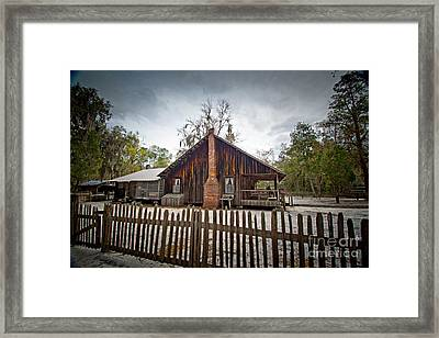 The Chesser Homestead Framed Print by Southern Photo