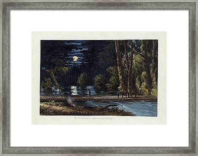The Chickahominy- Sumner's Upper Bridge Framed Print by Celestial Images