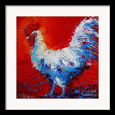 The Chicken Of Bresse Framed Prints